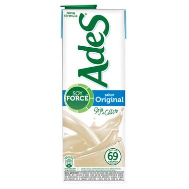 Bebida à Base de Soja Ades Original 1L