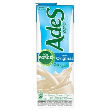 Bebida à Base de Soja Ades Original Zero 1L