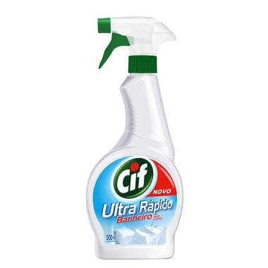Limpador Cif Ultra Rápido Banheiro Aparelho 500ml
