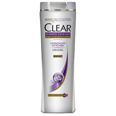 Shampoo Clear Women Anticaspa Hidratação Intensa 200ml