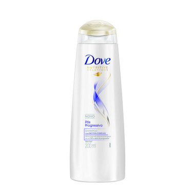 Shampoo Dove Pós Progressiva 200ml