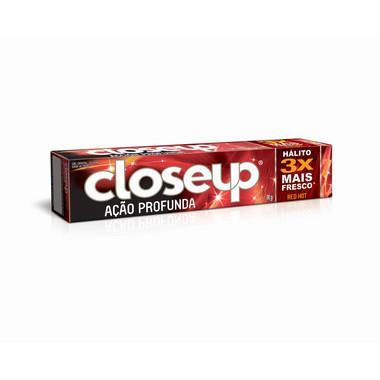 Creme Dental Closeup Gel Max Vermelho 90g