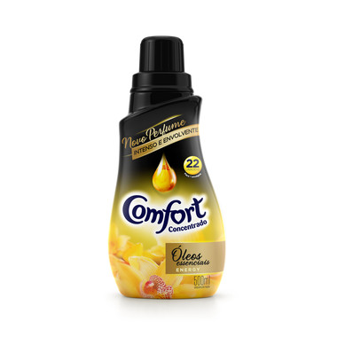 Amaciante Concentrado Comfort Óleos Essenciais 500ml