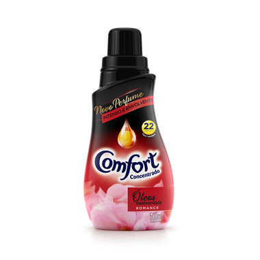 Amaciante Concentrado Comfort Romance 500ml