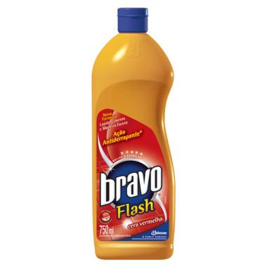 Cera Vermelha Bravo Flash 750ml