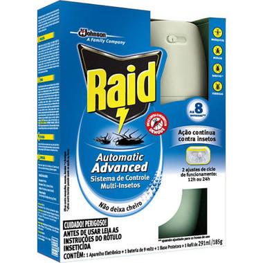 Inseticida Automático Raid - Aparelho com Refil 250ml