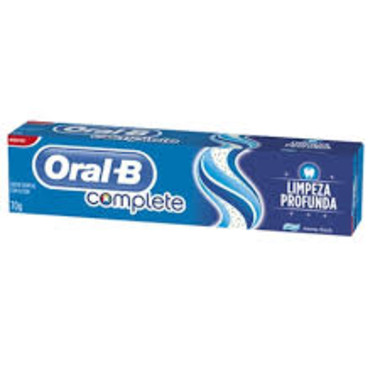 Creme Dental Oral-B Complete Limpeza Profunda 70g