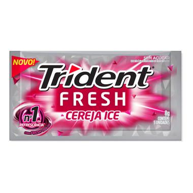 Goma de Mascar Trident Fresh Cereja Ice 8g