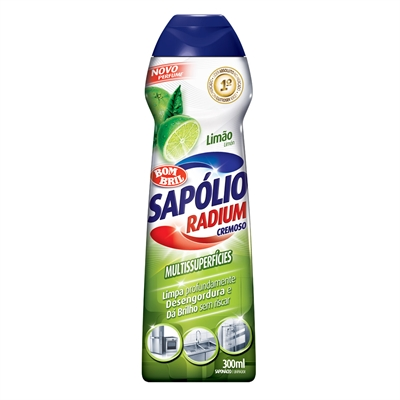 Saponáceo Sapólio Radium Cremoso Limão 300ml
