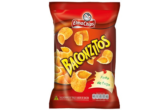 Salgadinho Elma Chips Baconzitos 103g