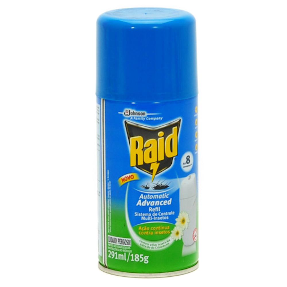 Inseticida Automático Raid - Refil 291ml
