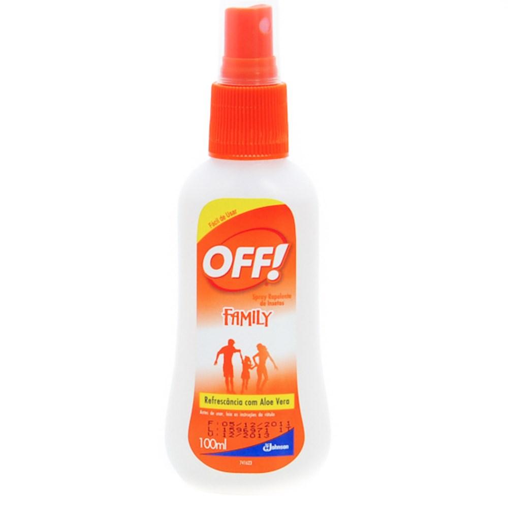 Repelente Corporal OFF! Family - Spray 100ml