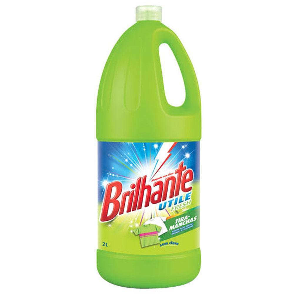 Alvejante sem Cloro Brilhante Utile Fresh 2L