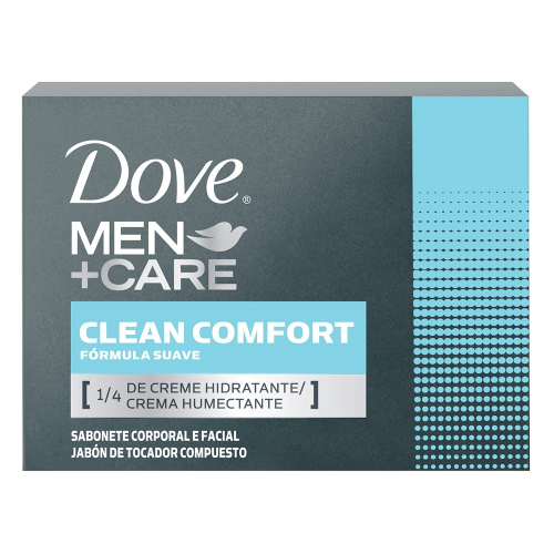 Sabonete Dove Men+Care em Barra Clean Comfort 90g