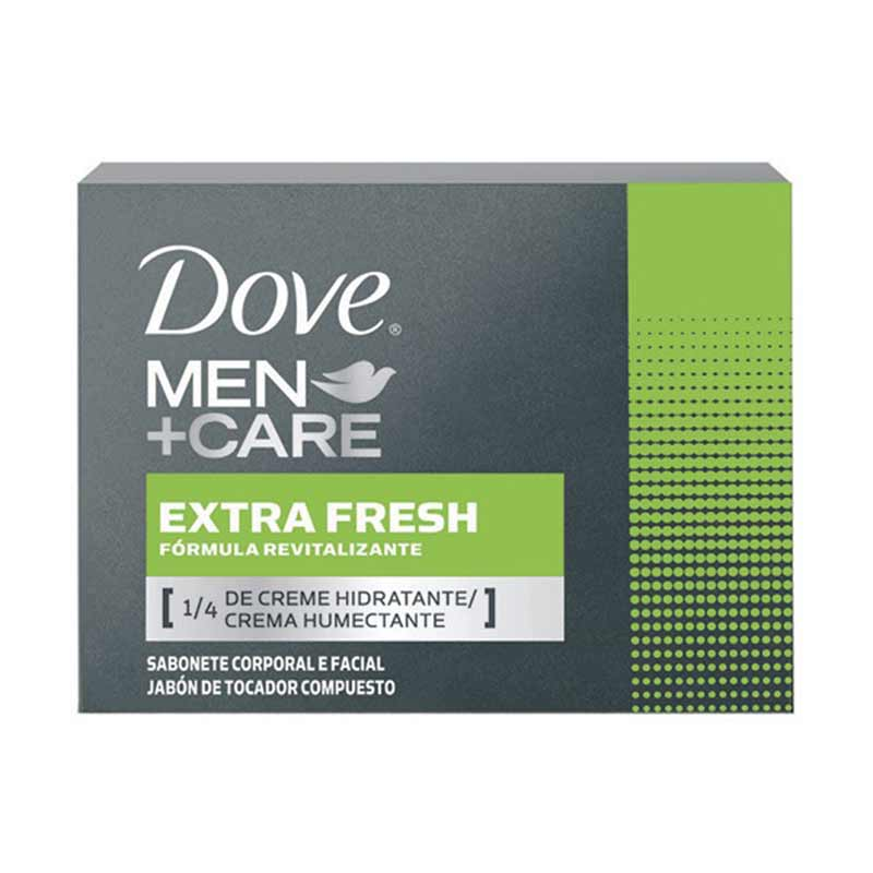 Sabonete Dove Men+Care em Barra Extra Fresh 90g