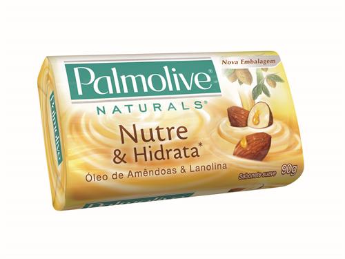 Sabonete Palmolive em Barra Óleo de Amêndoas e Lanolina 90g