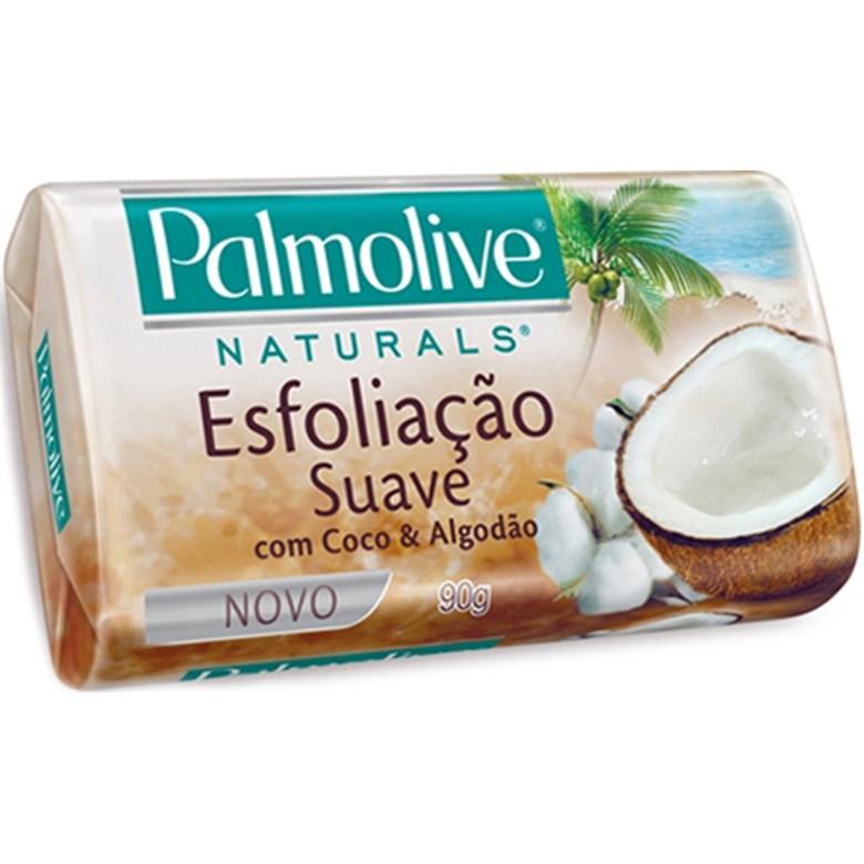 Sabonete Palmolive em Barra com Coco e Algodão 90g