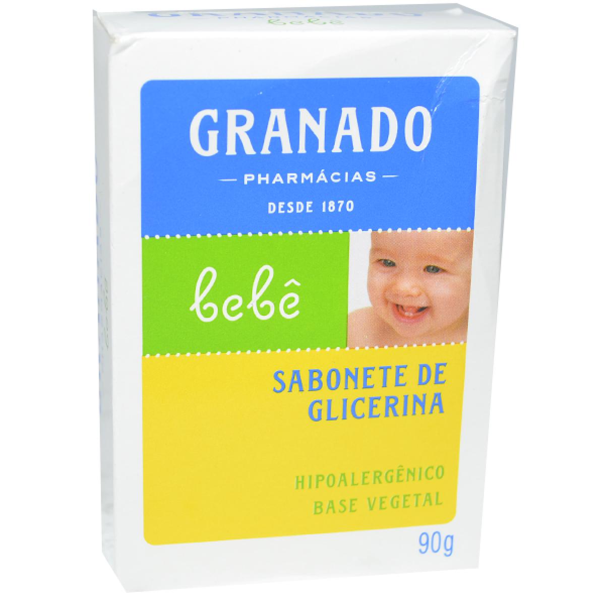 Sabonete Infantil Granado bebê de Glicerina 90g
