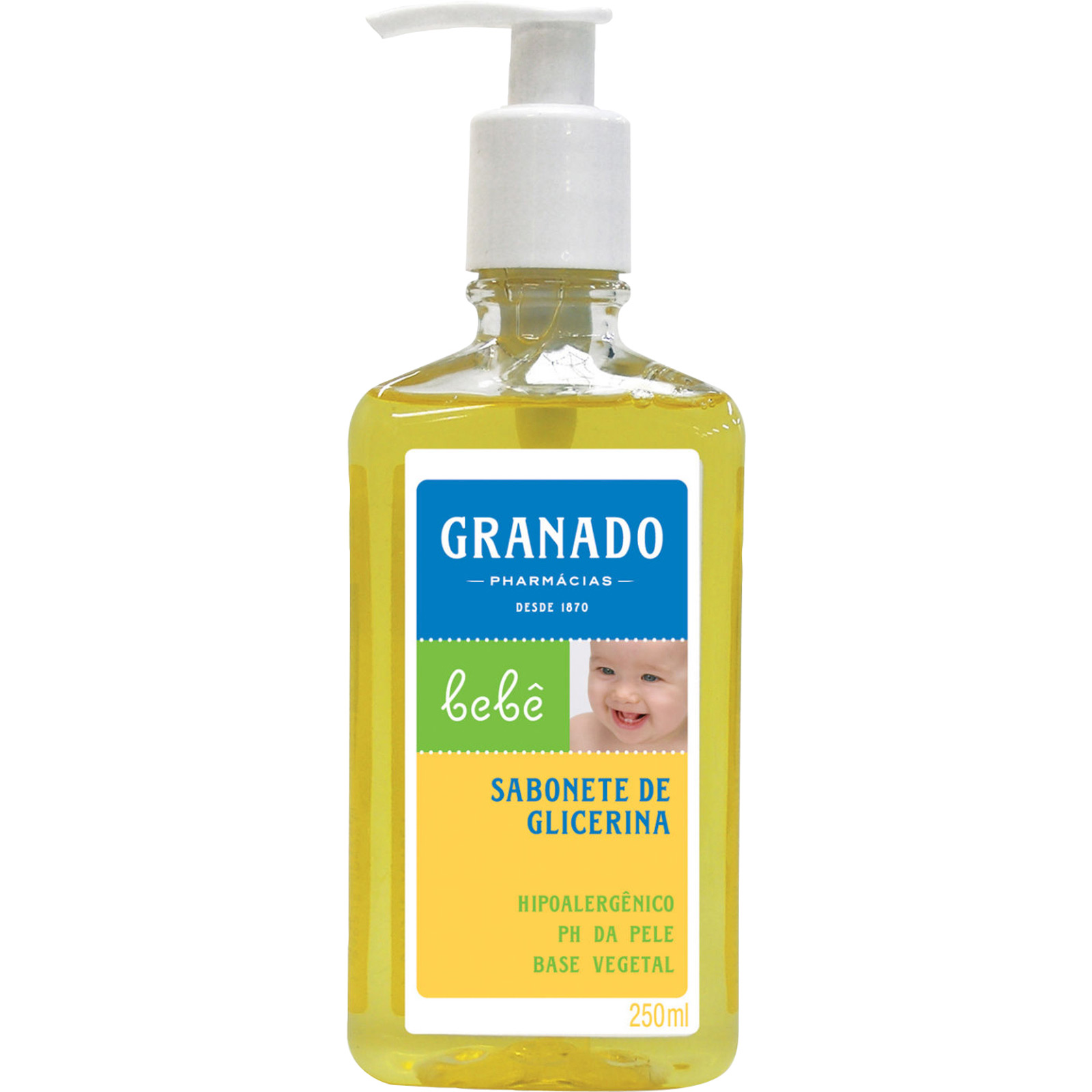 Sabonete Infantil Líquido Granado bebê de Glicerina 250ml