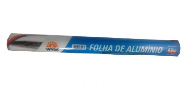Papel Alumínio Wyda 30cm x 4m