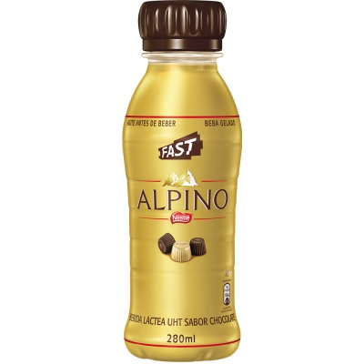 Bebida Láctea Alpino Fast 280ml