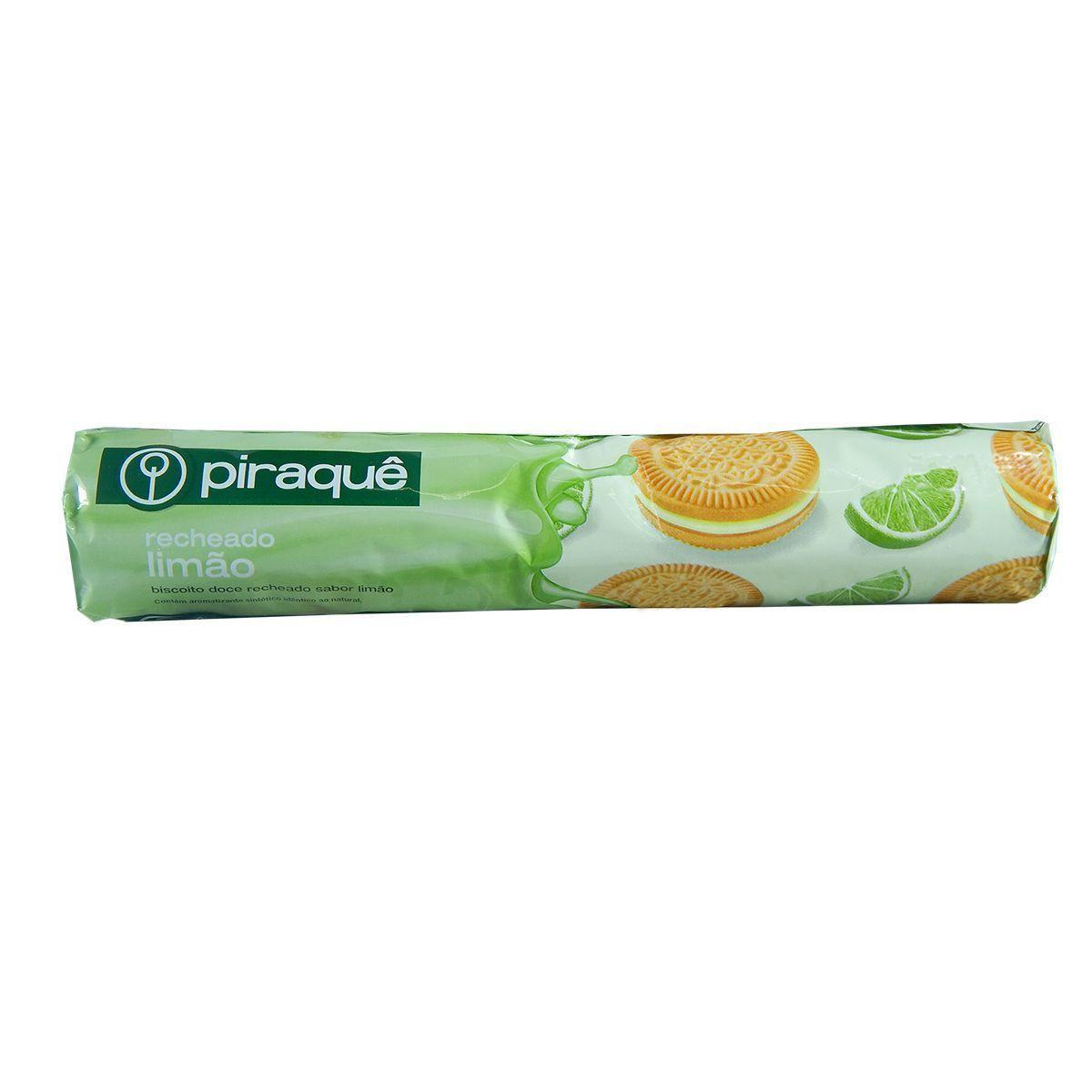 Biscoito Recheado Piraquê Limão 200g