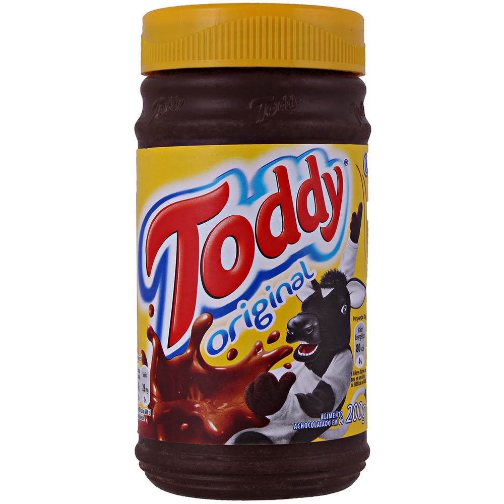Achocolatado em Pó Toddy Original Pote 200g