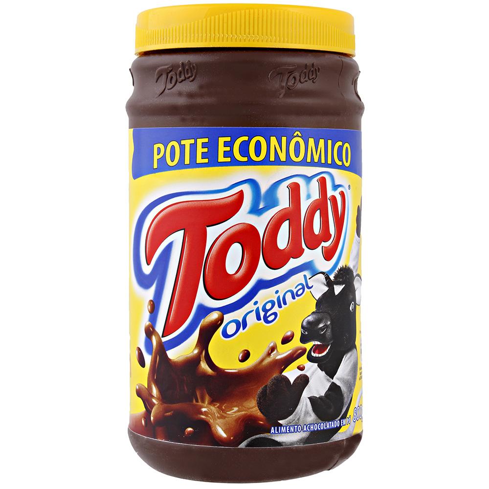 Achocolatado em Pó Toddy Original Pote 800g