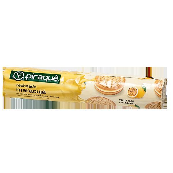 Biscoito Recheado Piraquê Maracuja 200g