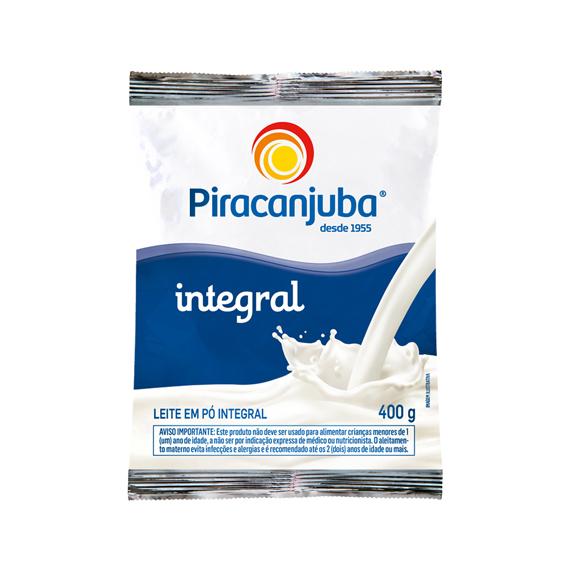 Leite em Pó Piracanjuba Integral 400g