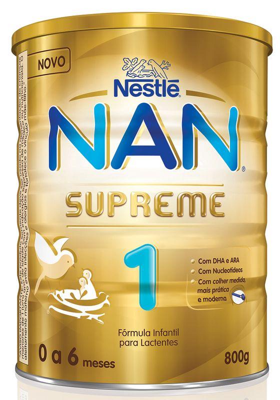 Fórmula Infantil NAN Supreme 1 - 800g