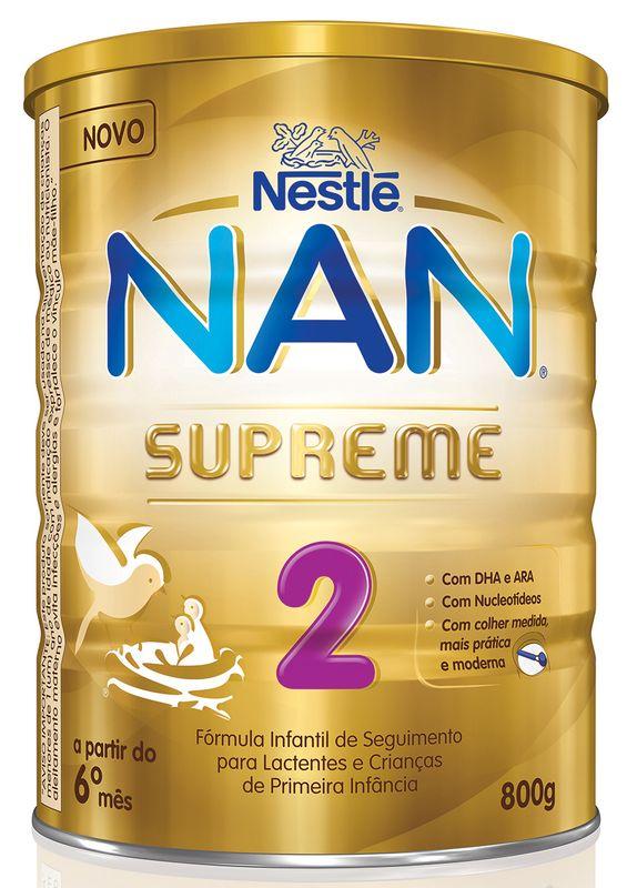 Fórmula Infantil NAN Supreme 2 - 800g