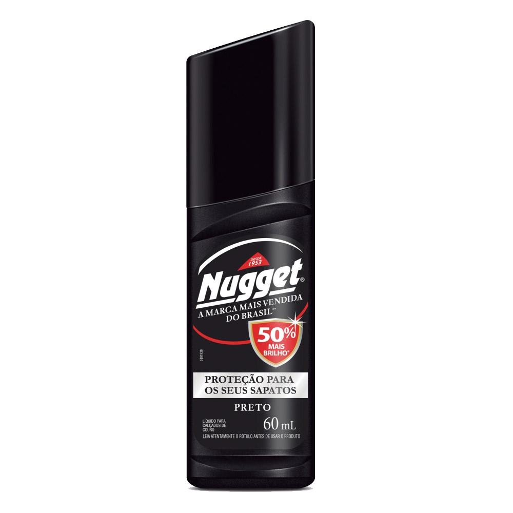 Cera Líquida Nugget para Calçados Preto 60ml