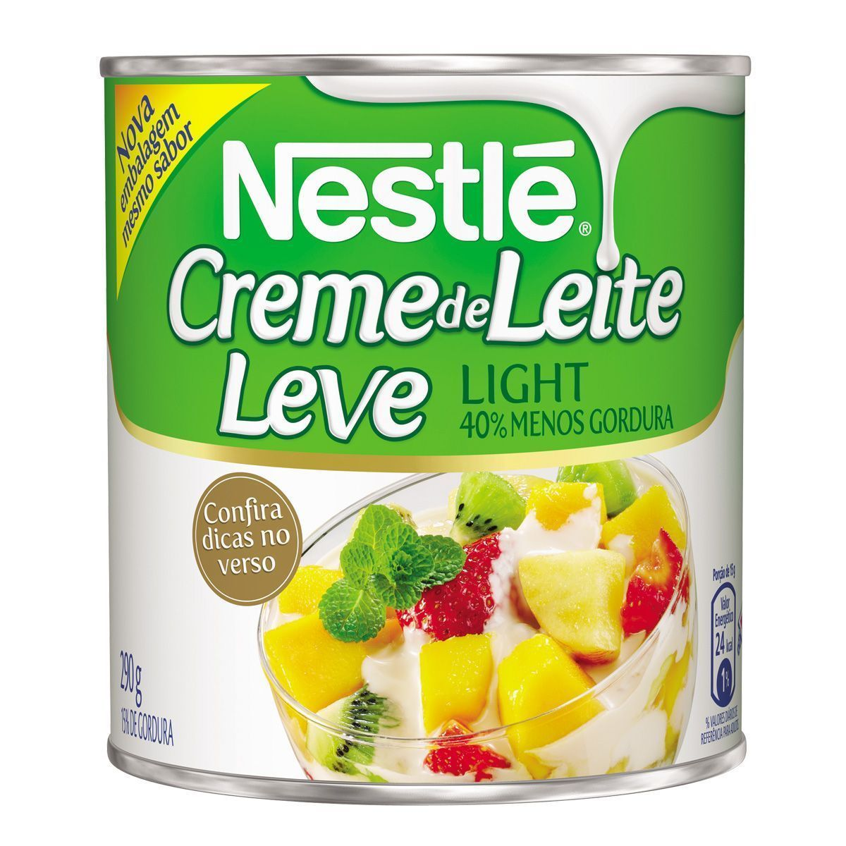 Creme de Leite Nestlé Light Lata 290g