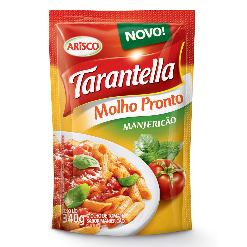 Molho de Tomate Tarantella Manjericão Sachê 340g