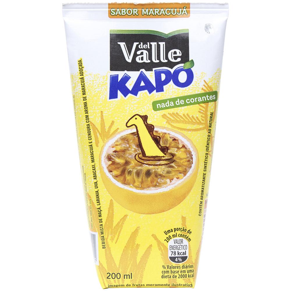 Suco del Valle Kapo Maracujá 200ml