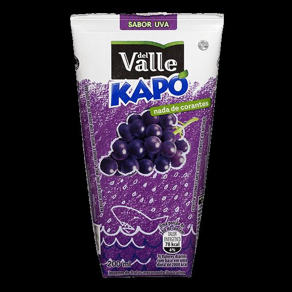 Suco del Valle Kapo Uva 200ml