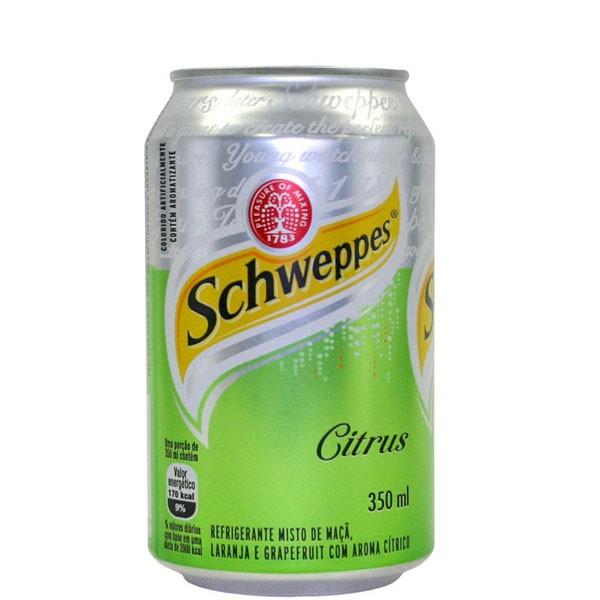 Refrigerante Schweppes Citrus Lata 350ml