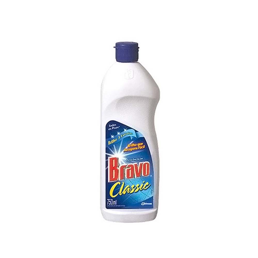 Cera Incolor Bravo Classic Mr Músculo 750ml