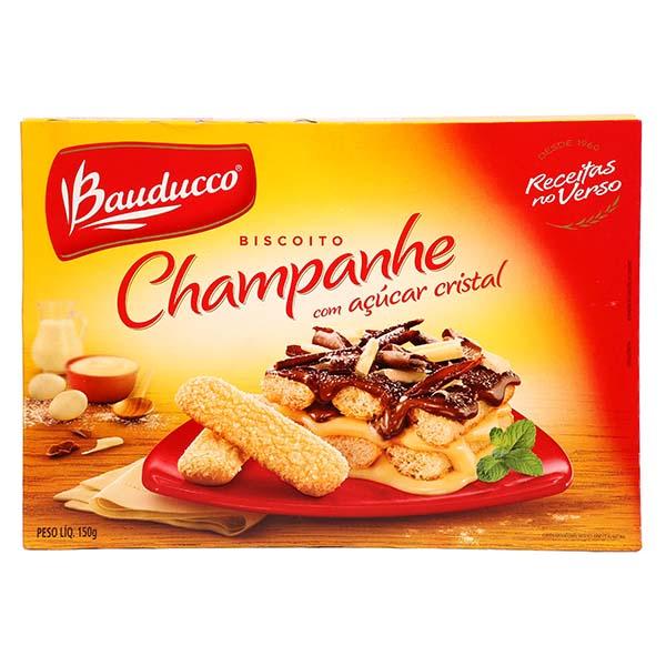 Biscoito Bauducco Champanhe com Açúcar Cristal 150g