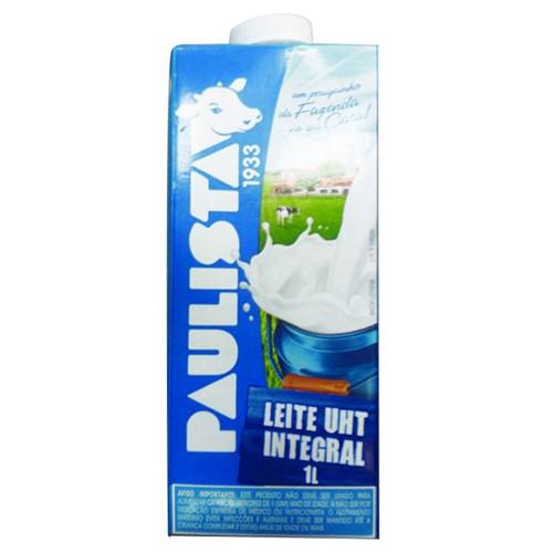 Leite UHT Paulista Integral 1L