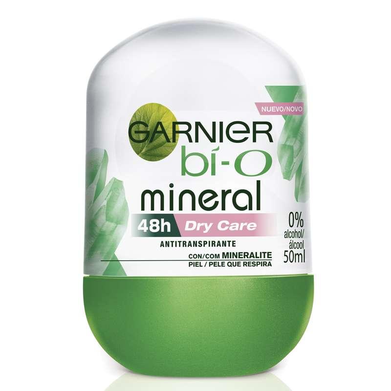 Desodorante Feminino Garnier Bí-O Mineral Dry Care Roll-on 50ml