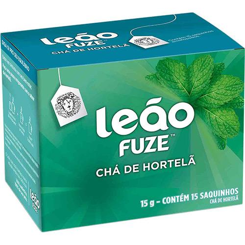 Chá Leão Fuze Hortelã c/15 Saquinhos 15g
