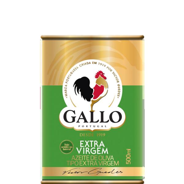 Azeite de Oliva Gallo Extra Virgem Lata 500ml