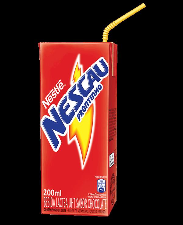 Achocolatado Pronto Nescau 200ml