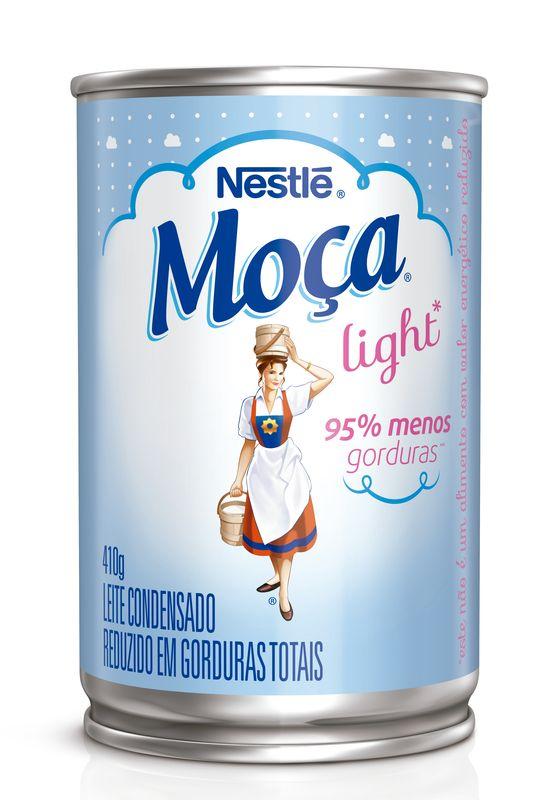 Leite Condensado Nestlé Moça light Lata 410g