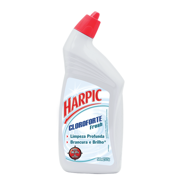 Desinfetante Sanitário Harpic Cloroforte Fresh 500ml