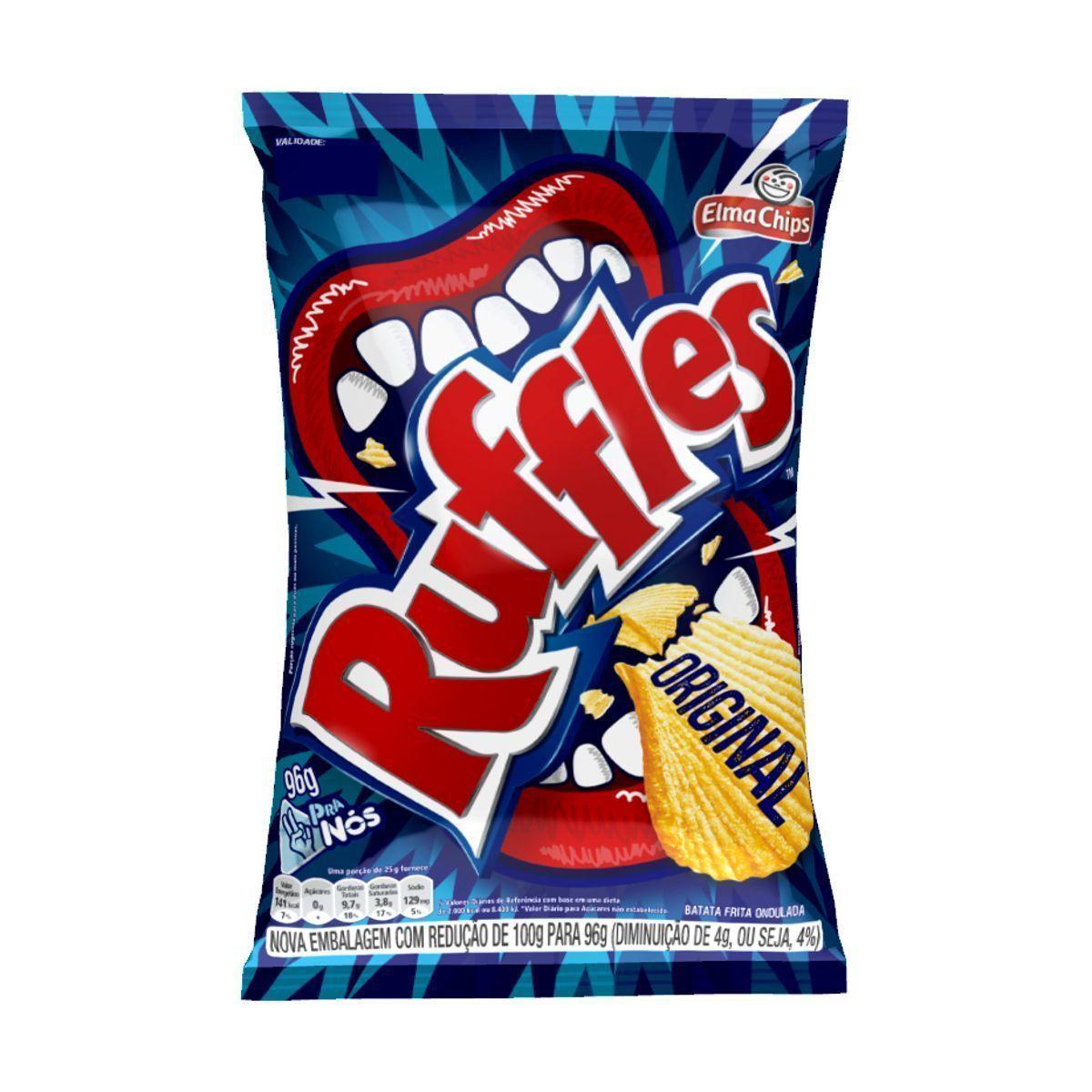 Batata Elma Chips Ruffles Original 96g