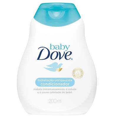 Condicionador Infantil baby Dove Hidratação Enriquecida 200ml