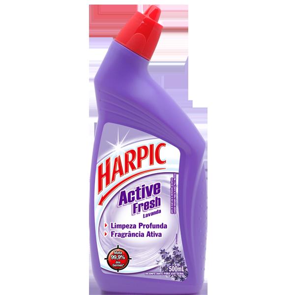 Desinfetante Sanitário Harpic Active Fresh Lavanda 500ml